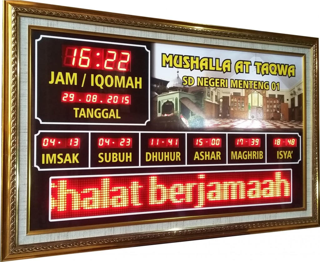 jam digital masjid sholato sh-1505rt