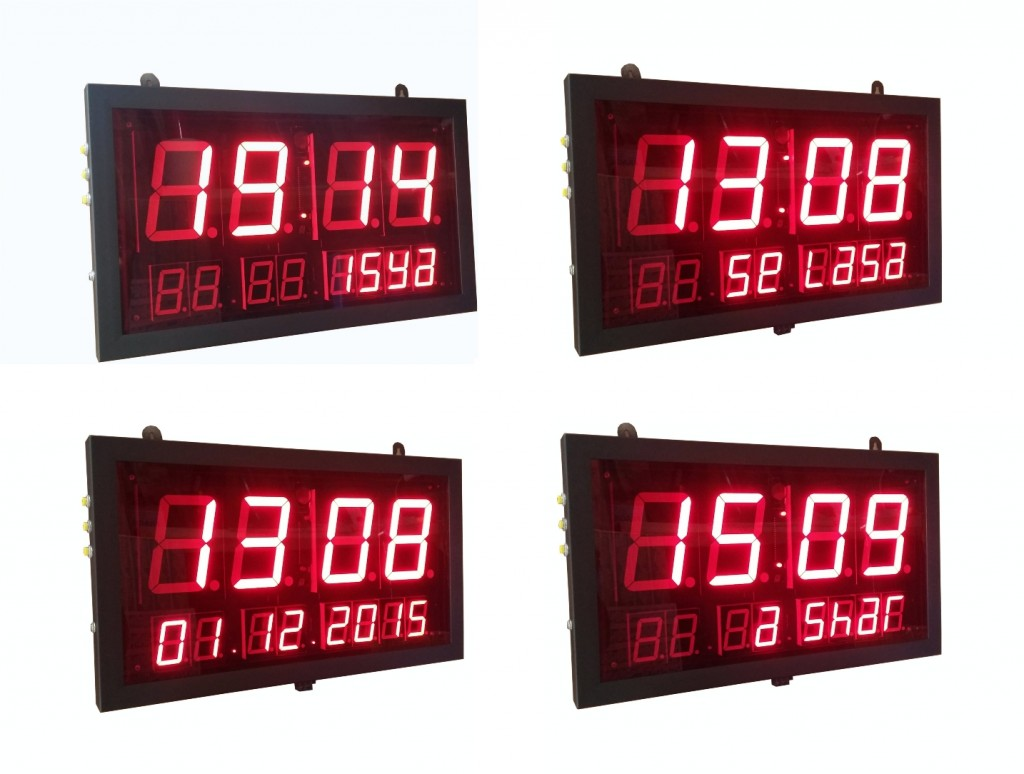 daftar harga jam digital masjid