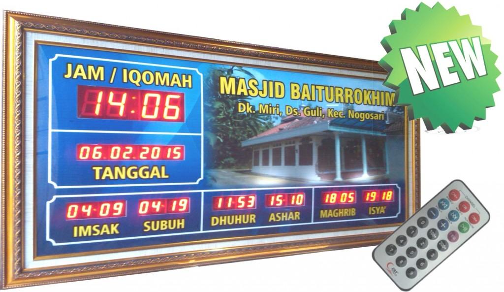 Jadwal Adzan Elektronik