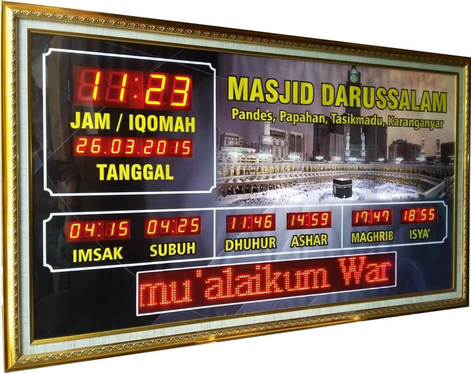 jadwal sholat digital sholato sh-2310rt
