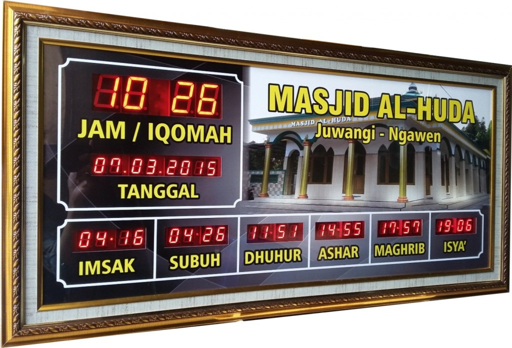 jam digital masjid tegal
