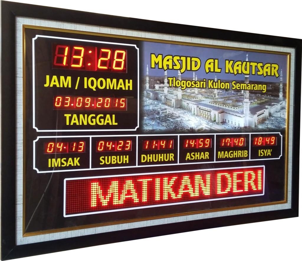 jam digital masjid semarang
